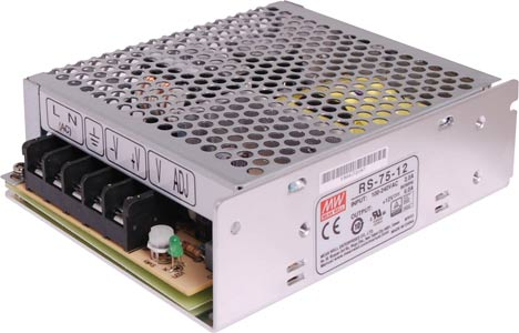 72W 12VDC Switchmode Power Supply