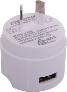 Single Output 2.1A USB Wall Charger