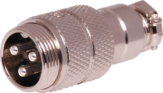3 Pin Male Line Microphone Connector
