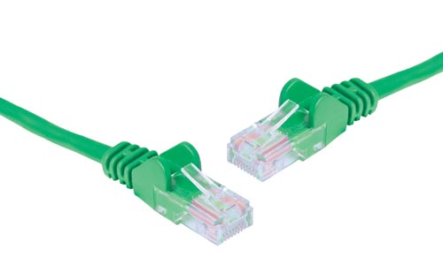 Green 2m Cat6 UTP Ethernet Patch Cable
