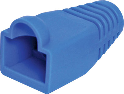 Blue Modular Patch Lead Caps RJ45 Pk-10