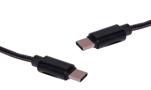 1m C Male to C Male USB 3.1 Patch Lead
