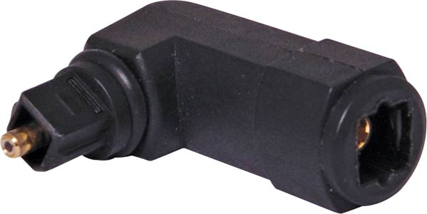 Toslink Right Angle Adaptor