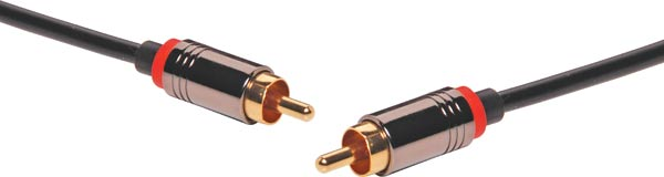 5m Pro Grade 75 Ohm RCA Male to RCA Male Cable