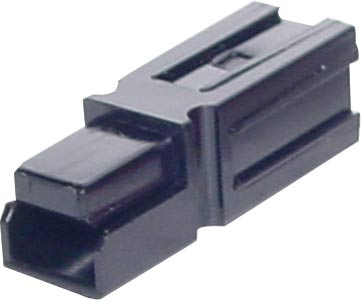 75A 600V Black Genuine Anderson Power High Current DC Connector