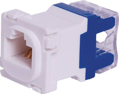 RJ45 Cat5e Socket Clipsal Clip-In Mechanism