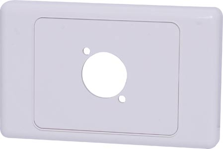 Wallplate For D Series Connector