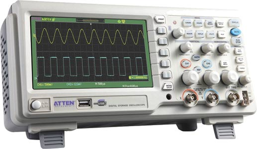 ATTEN 25MHz LCD Digital Storage Oscilloscope
