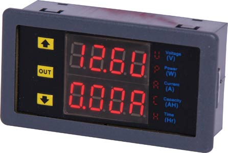 Panel Mount Multifunction Digital Volt Meter