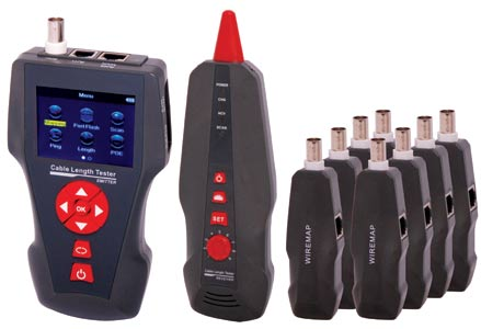 Network Cable Length Tester With PoE/PING