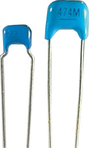 2.2uf 50V X7R 5mm Monolithic Capacitor