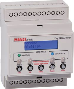 50 Event 4 Output DIN Rail Timer