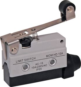 IP65 Momentary Heavy Duty Roller Lever Limit Switch