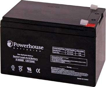 12V 12Ah Sealed Lead Acid (SLA) Battery