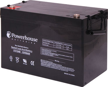 12V 90Ah Deep Cycle Sealed Lead Acid (SLA) Battery
