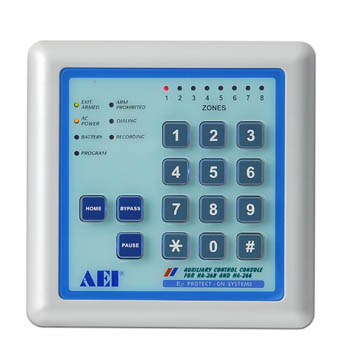 AEI HA-268A Auxiliary Keypad for HA-268 Alarm Panel