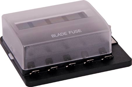 Blade Fuse Block Panel With LED 10 Fuse