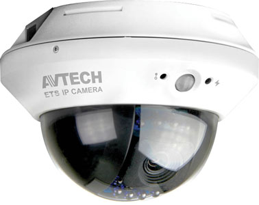 1.3 Megapixel Audio IP Dome Camera