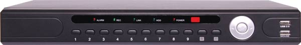 9 Channel 2MP 8 Channel PoE Network Video Recorder