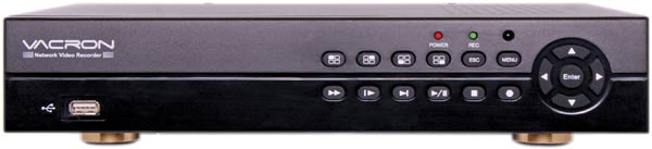 16 Channel 1080p Network Video Recorder (NVR)