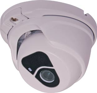 2 Megapixel Weatherproof IP PoE Dome Camera