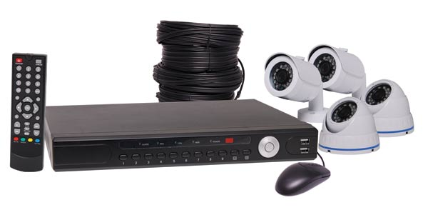 1080p AHD Real Time CCTV DVR And 2 Dome 2 Bullet Camera Package