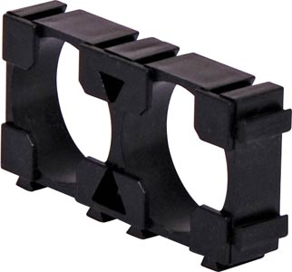 Double 18650 Interlocking Rectangle Battery Holder