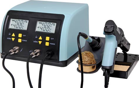 MICRON Combo 60W Soldering & 90W Vacuum Desoldering Station