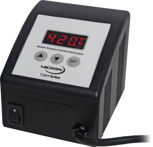 Micron 60W Lead Free (RoHS) Temperature Adjust Soldering Station