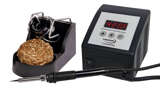 MICRON 80W Lead Free (RoHS) Temperature Adjust Soldering Station