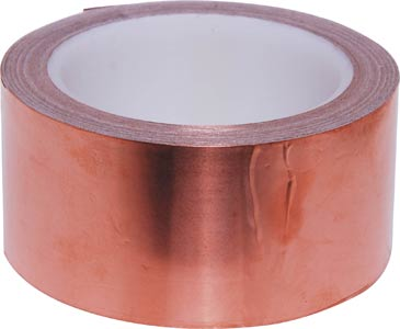 50mm x 15m Copper Tape