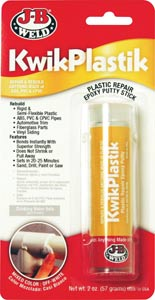 JB KwikPlastik High Strength Plastic Epoxy Adhesive