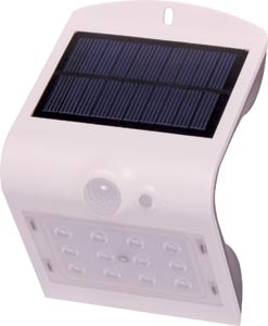 Weatherproof Solar PIR 12 LED Sensor Light