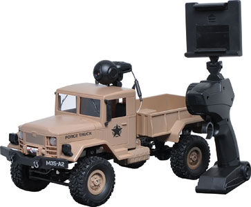 Remote Control All Terrain 4WD Truck with WIFI Camera
