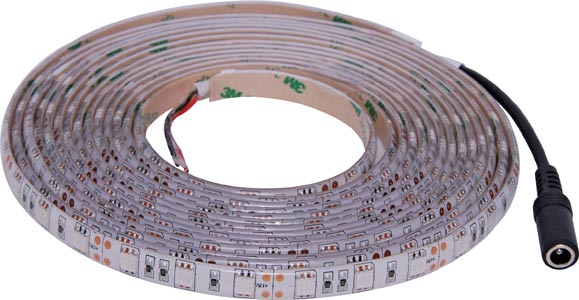IP65 5050 Cool White 12 Volt LED Strip Light 5m