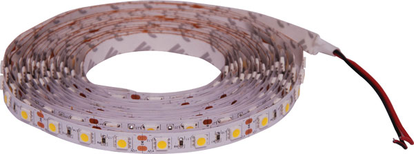 5050 Warm White 12 Volt LED Strip Light 5m