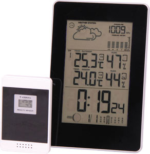 Wireless Indoor/Outdoor Thermometer and Hygrometer