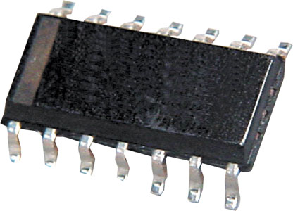 LM339D Quad Voltage Comparator