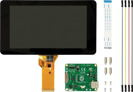 "Raspberry Pi Official 7"" Capacitive Touch Screen Display"