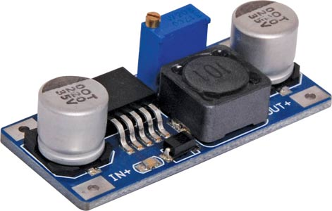DC-DC Buck Module 3-40V In / 1.5-35V Out