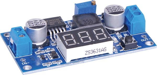 DC-DC Boost Display Module 3-34V In / 4-35V Out