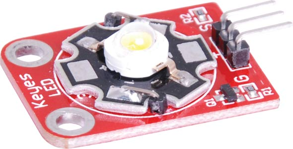3 Watt White Star LED Breakout Board