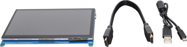 "7"" LCD 1024 x 600 HDMI Touchscreen For Raspberry Pi"